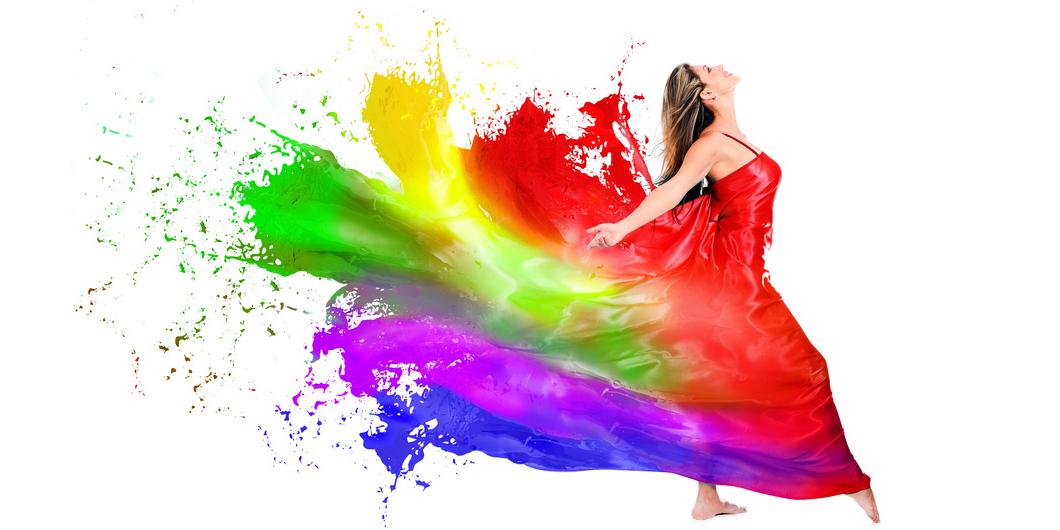 Ces couleurs qui nous font du bien!